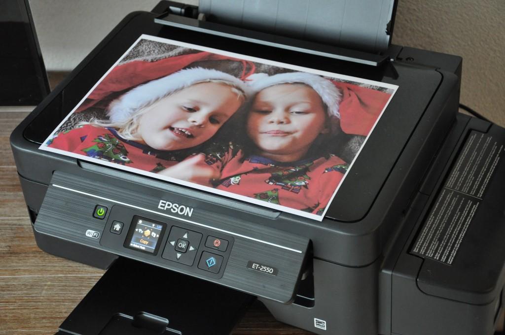 Een mooie foto geprint op glossy fotopapier. Mooi resultaat en je kunt heel eenvoudig de papierinstellingen aanpassen op de printer. Ook eigen lijn- of ruitpapier kun je ermee afdrukken. En - heel fijn - scannen en kopiëren doet hij ook!