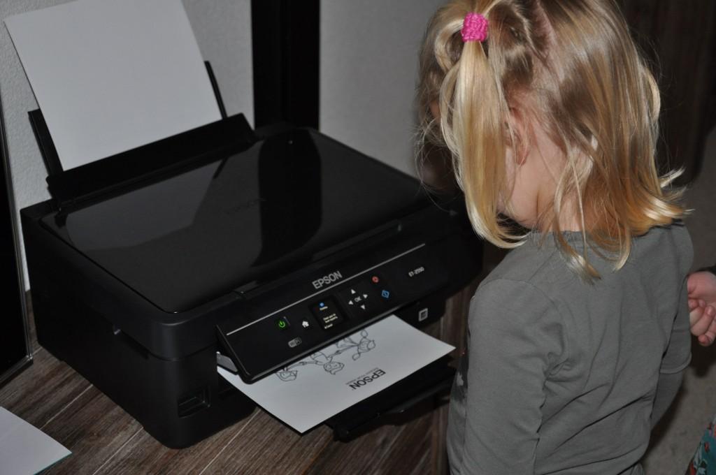 Blijft magisch om naar te kijken zo'n printer!