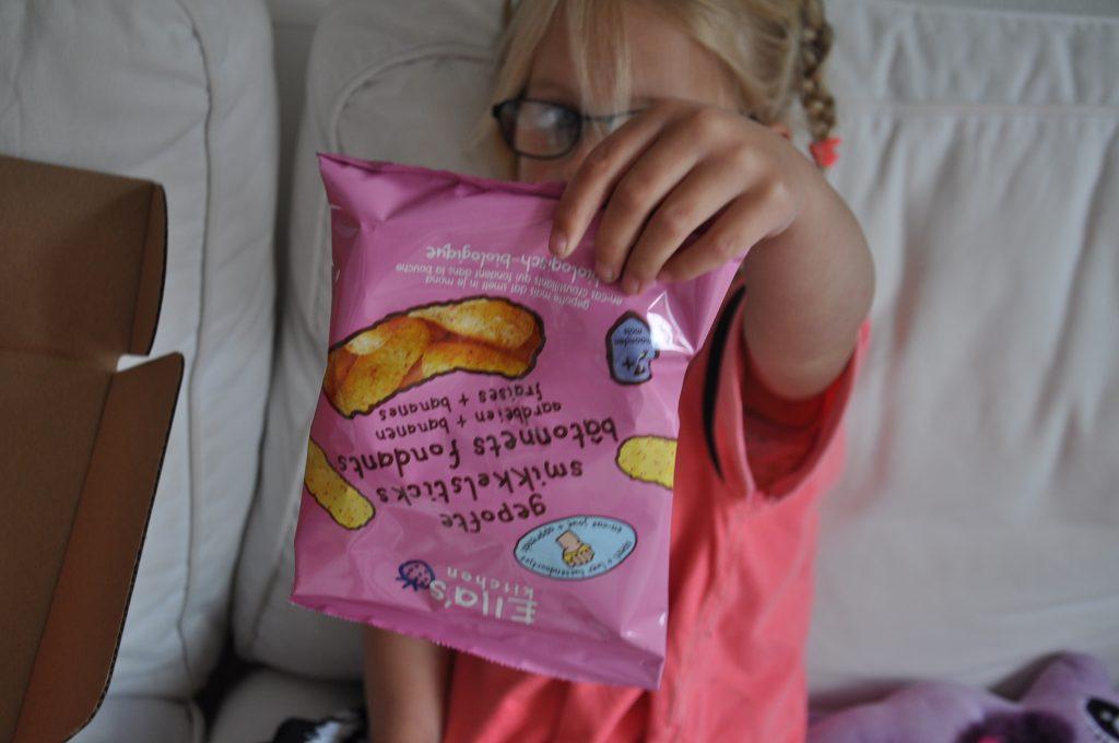 Biologische snack voor kindjes vanaf 7 maanden.