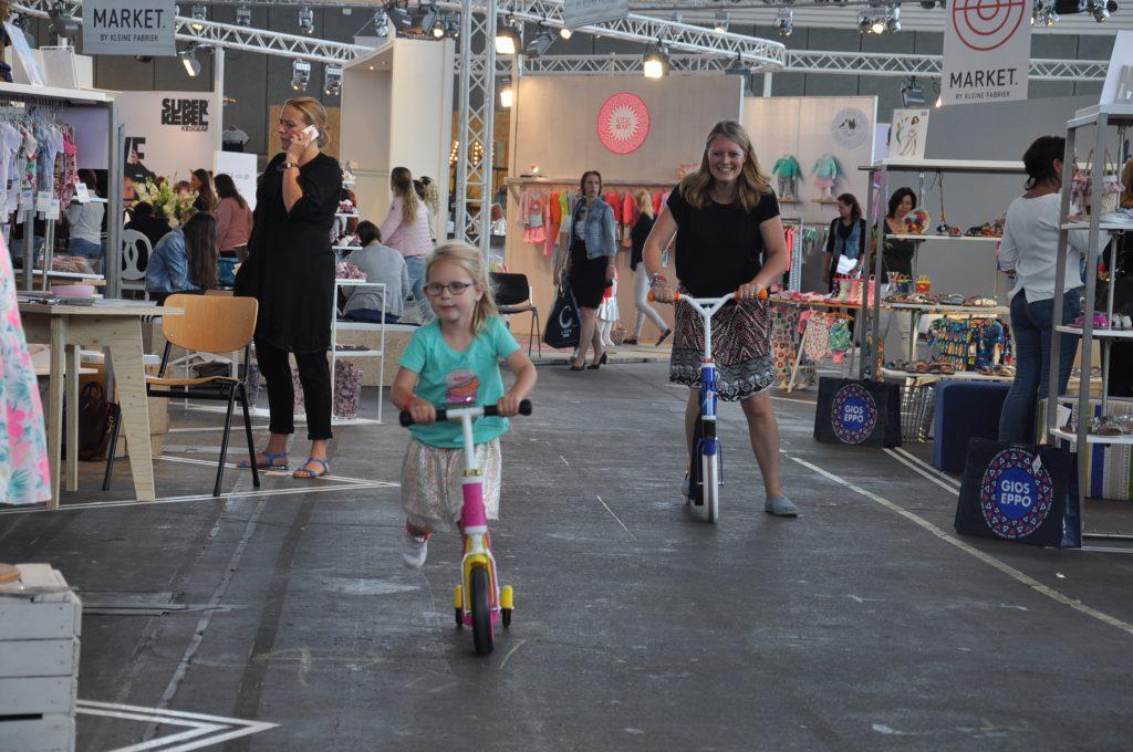 Steprace met mijn dochters op de Scoot and Ride!