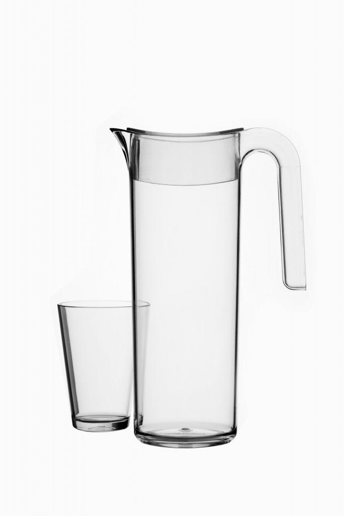 flow waterkan en glas 275 ml
