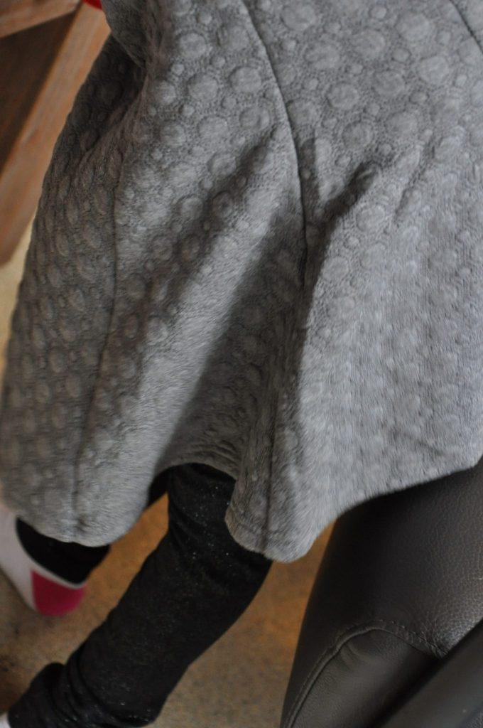 subtiele glitter legging