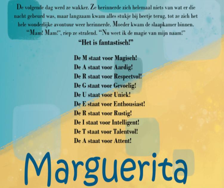 Marguerita eigenschappen
