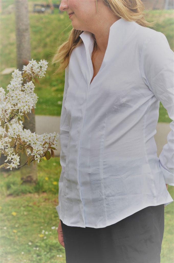 blouse ootd