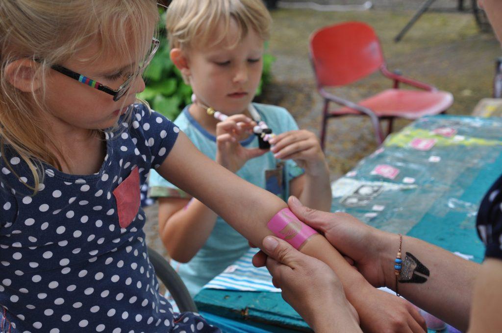 foodtruck festival bodegraven glittertattoo