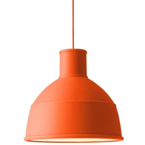 oranje hanglamp