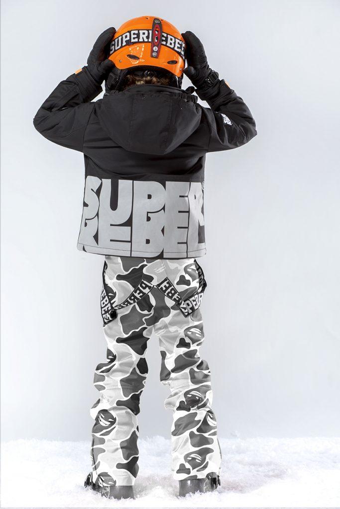 super rebel winterjas