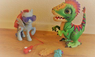 munchin rex dino en rainbow dash