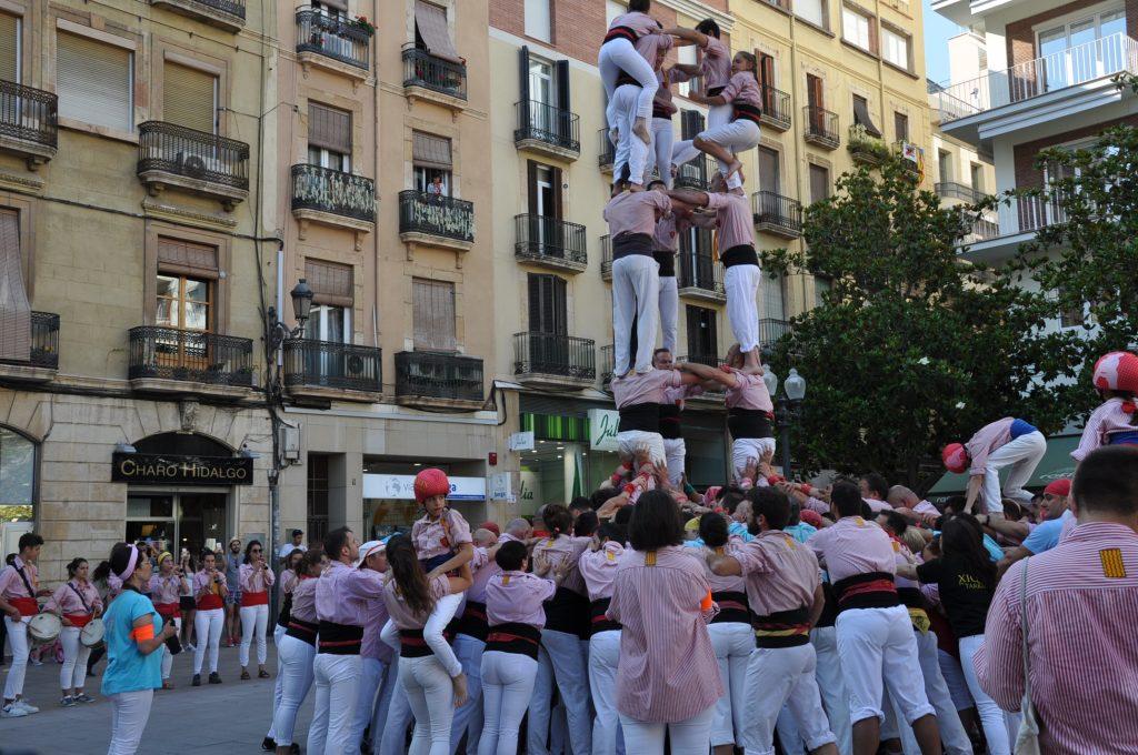 menselijke torens tarragona