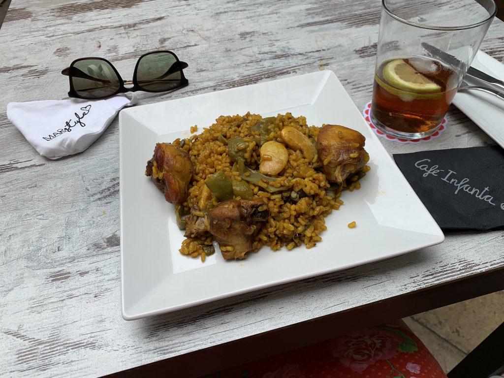 valencia citytrip paella