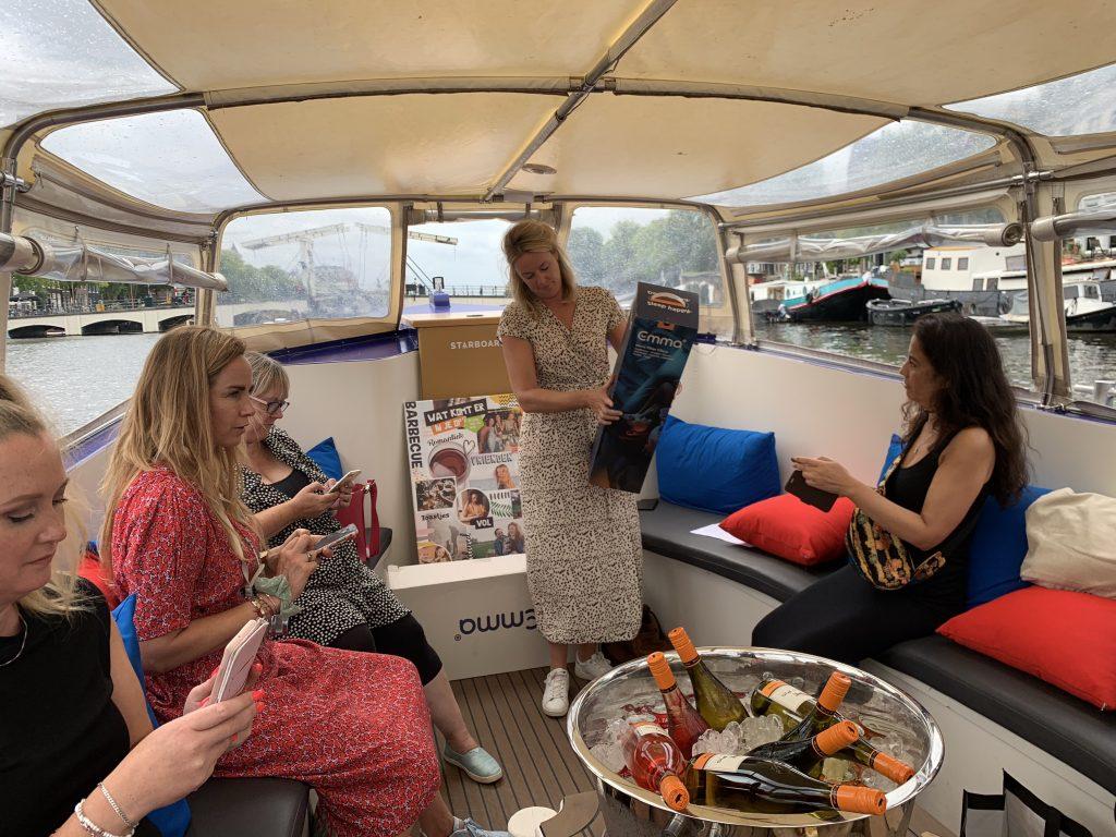 blogboot amsterdam