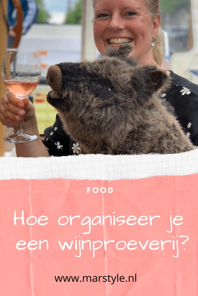 wijnfeestje organiseren proeverij