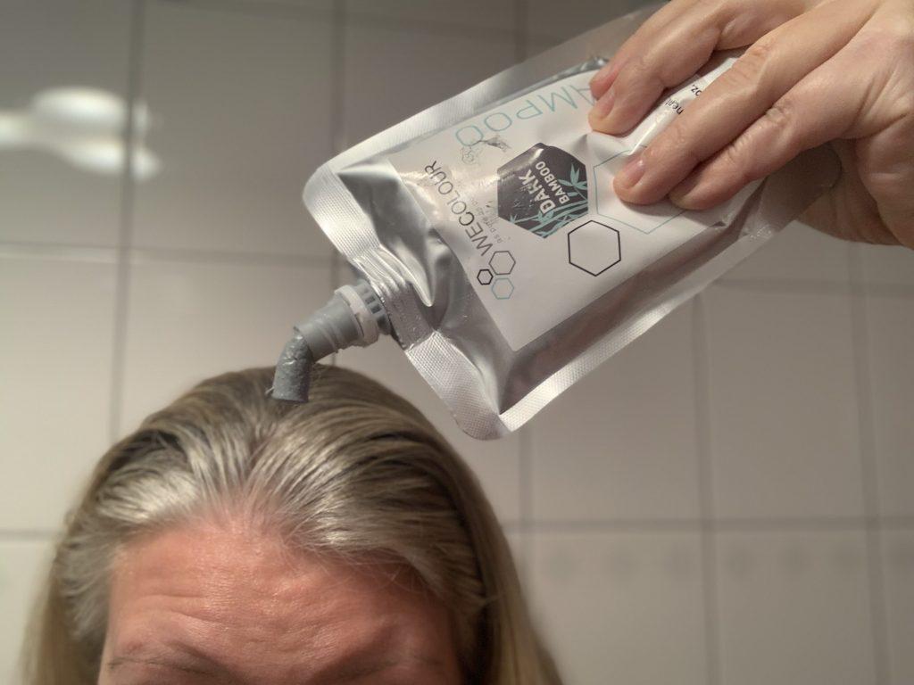 wecolour shampoo proberen hoofdhuid vriendelijk