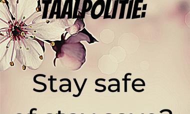 stay safe taalpolitie