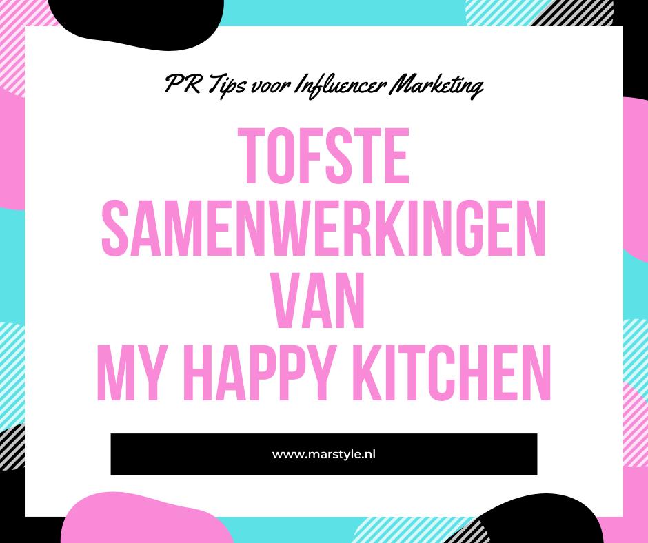 samenwerkingen my happy kitchen
