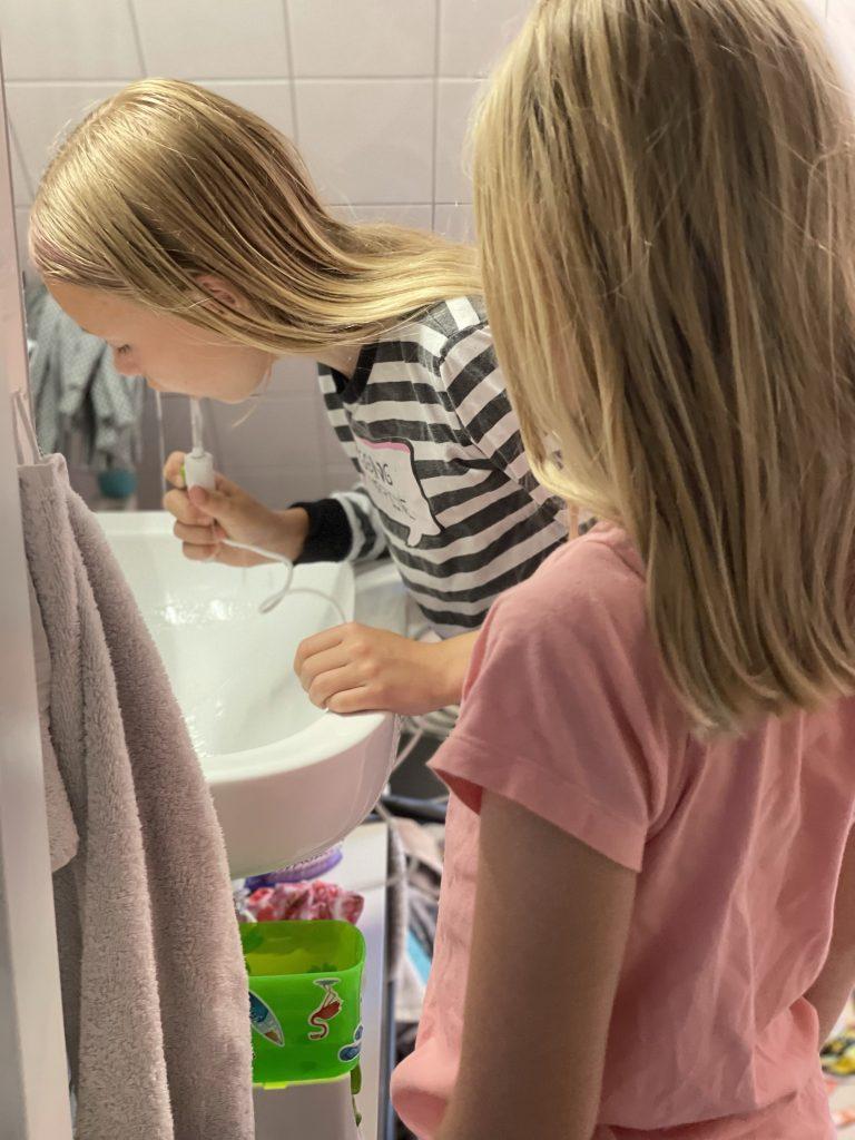 review waterflosser waterpik