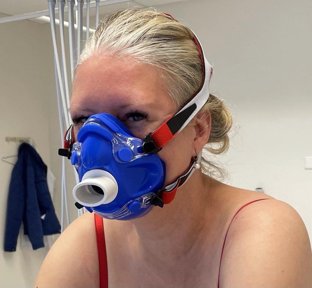 inspanningstest masker