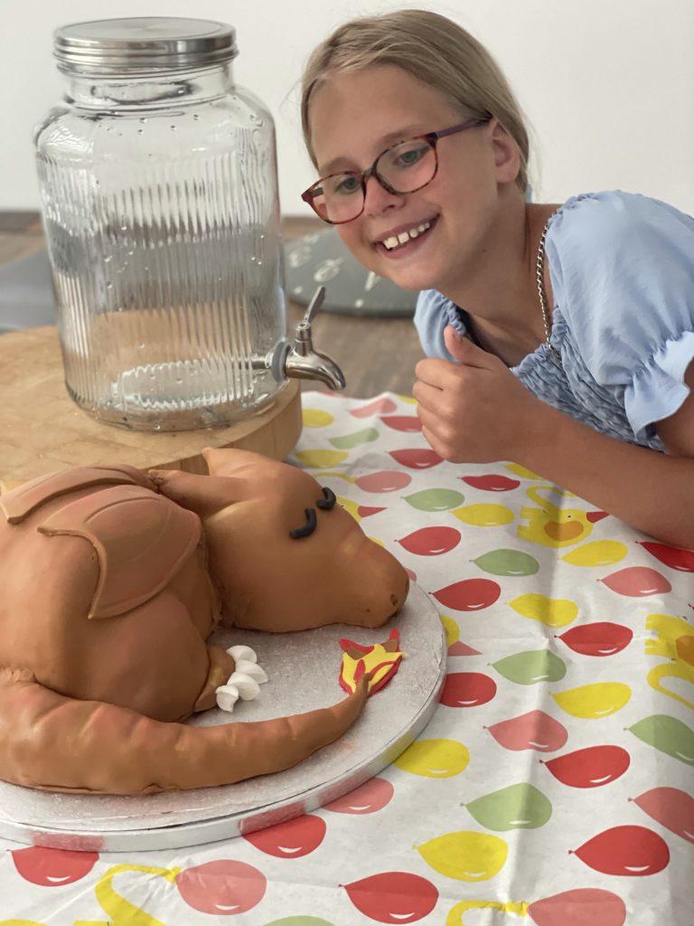 cherizard taart