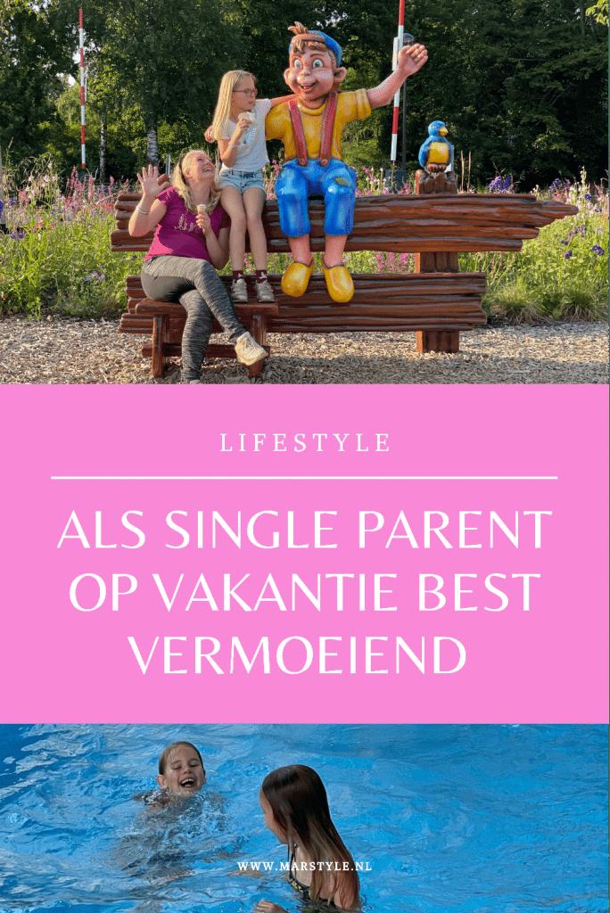 alleenstaande ouder op vakantie