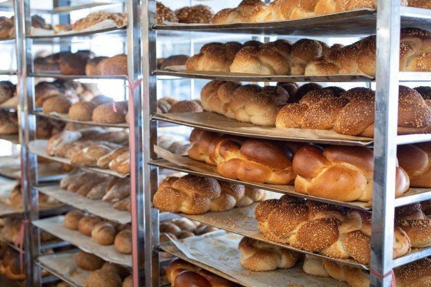 brood klaar om af te bakken