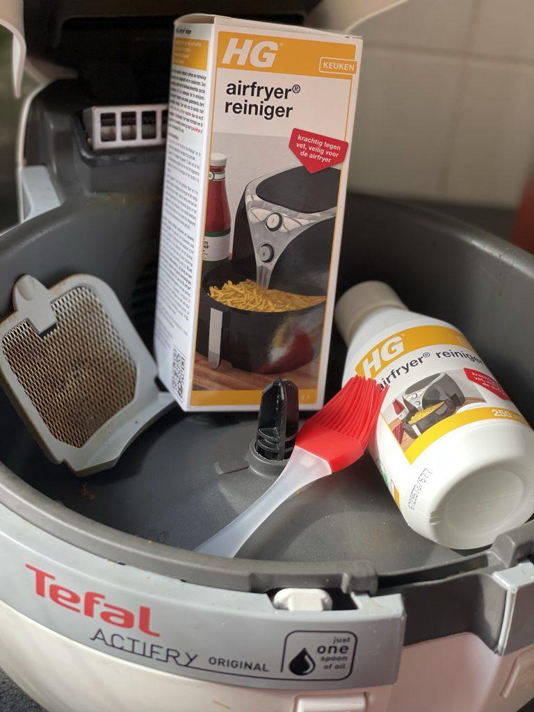 actifry schoonmaken