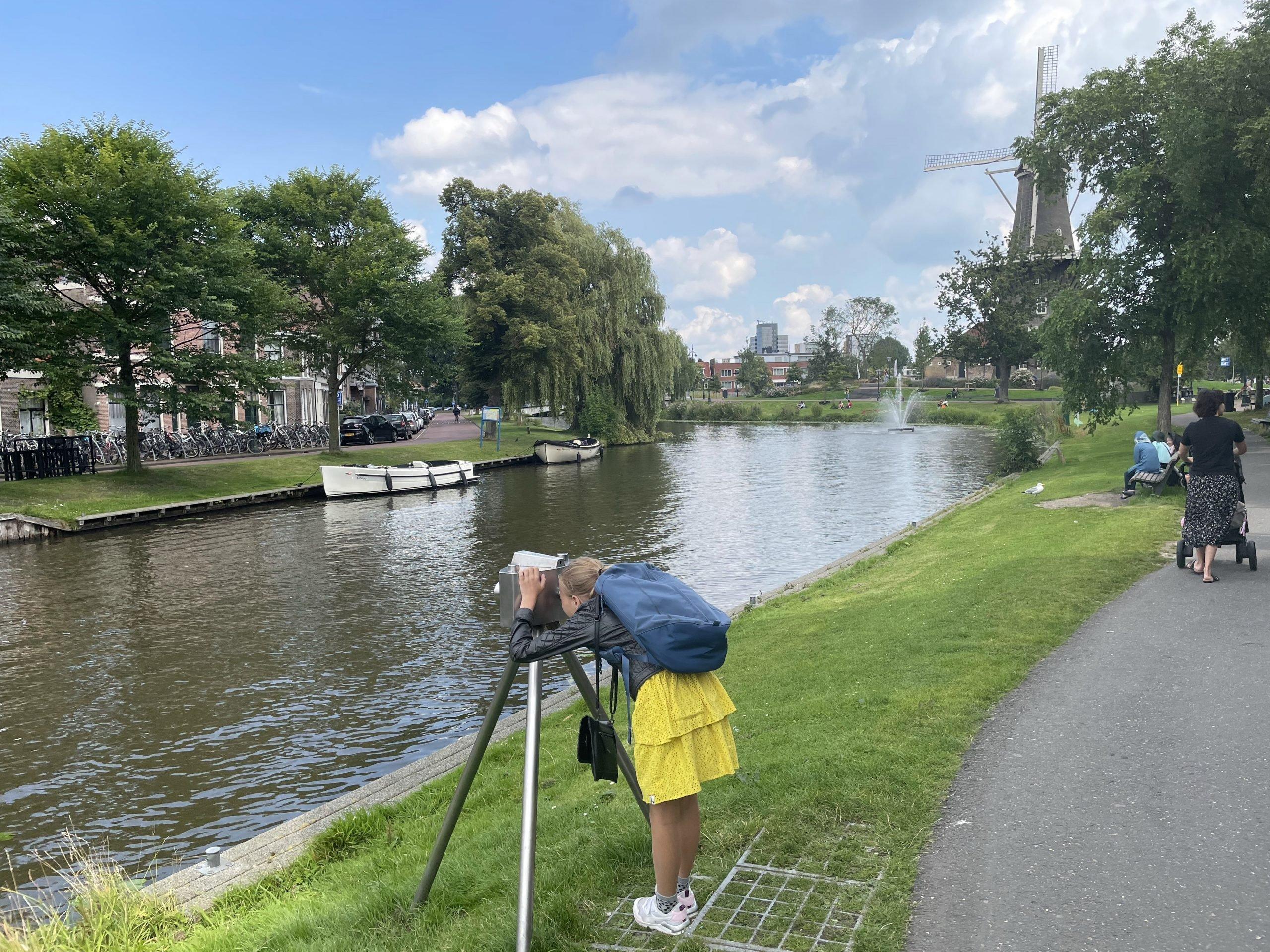 toerist in leiden