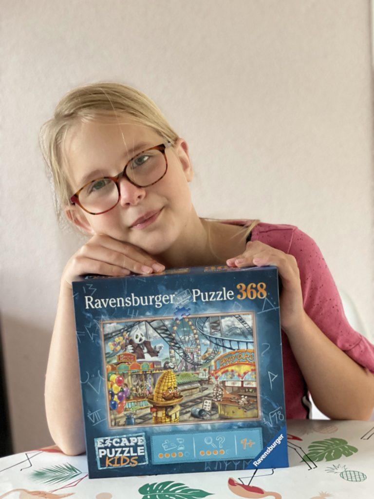 ravensburger 9+ escape puzzel