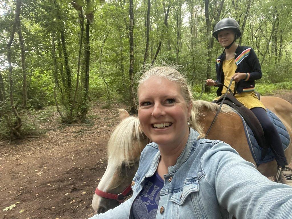 paardrijden landal land van bartje
