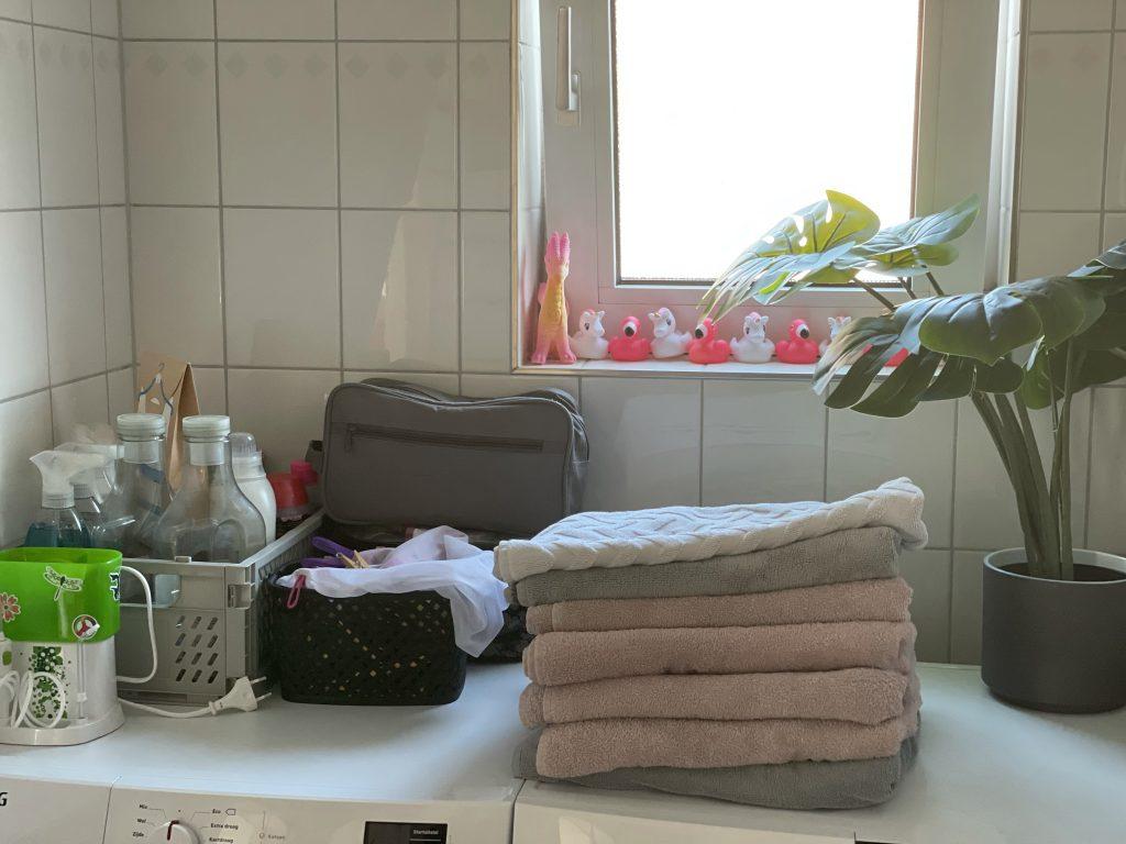 opruimen badkamer