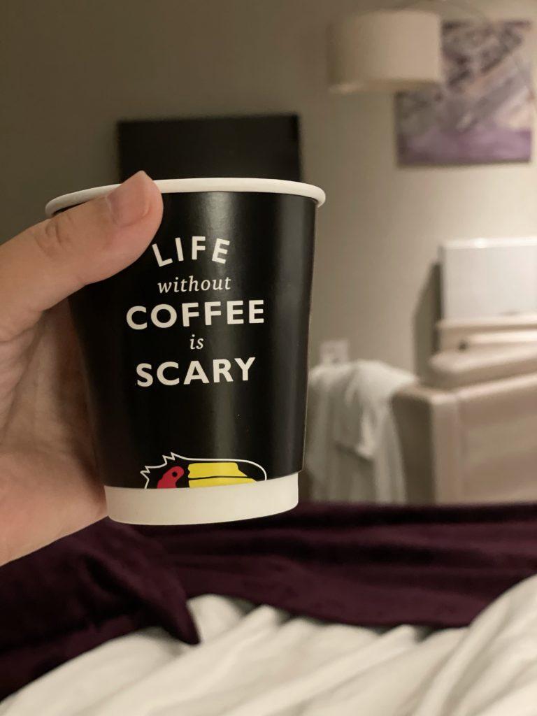 koffie bij van der valk